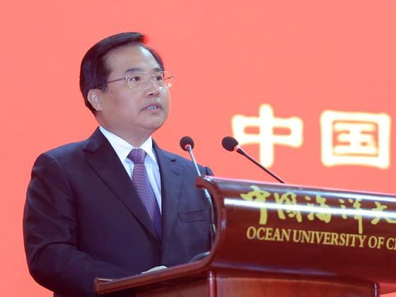 中国海洋大学建校90周年庆祝大会隆重举行