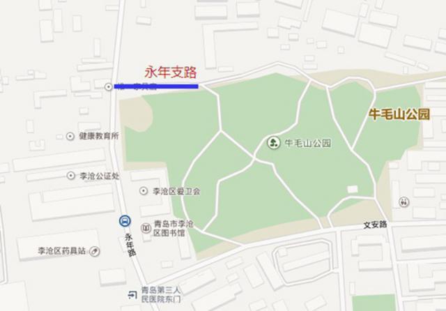 永年区乡镇地图