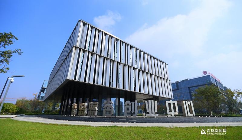 山东大学的北侧,总建筑面积30万平米